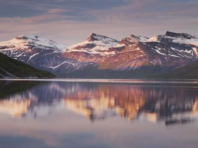 Norway, Northern Country, Ballangen, Efjorden, Isfjellet