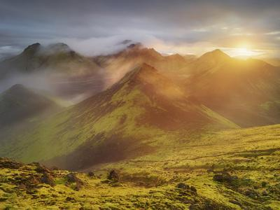 Storkonufell, Mofell, Fjallabak, South Iceland, Iceland