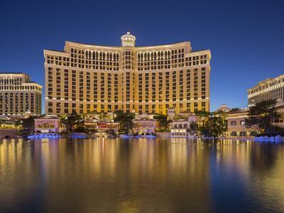 Bellagio Hotel, Lake Bellagio, Strip, South Las Vegas Boulevard, Las Vegas, Nevada, Usa