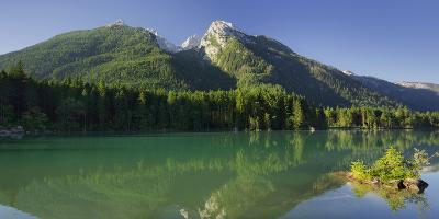 Morning Mood in the Hintersee, Cold for High, Berchtesgadener Land District
