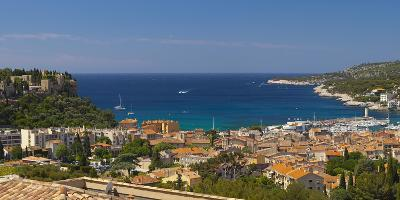 Europe, South of France, Mediterranean Coast, Cassis, Harbour Bay, Sailboats