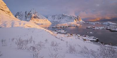 Reine' (Village), Lilandstinden, Moskenesoya (Island), Lofoten, 'Nordland' (County), Norway