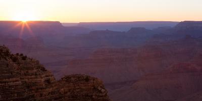 Panorama, USA, Grand Canyon National Park, South Rim
