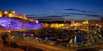 Europe, South of France, Mediterranean Coast, Provence, Marseille, Vieux Port Harbour, Evening