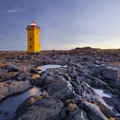 Lighthouse of Stafnes, Reykjanes (Headland), Iceland