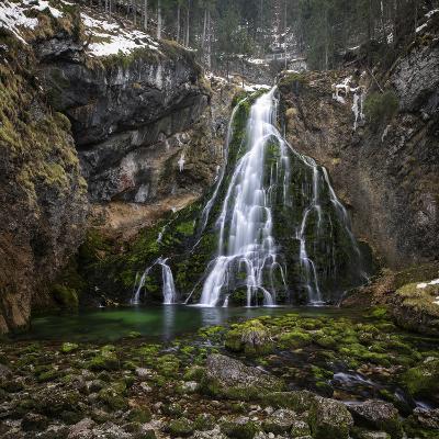 Waterfall in Golling, Salzburg, Austria