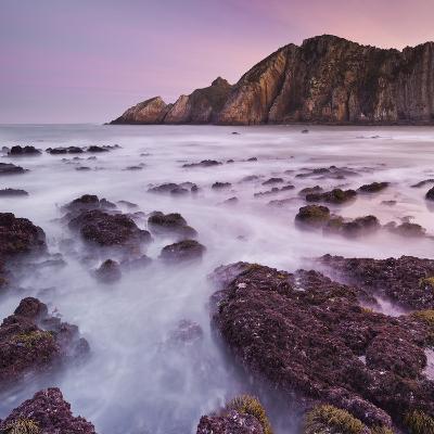 Swell at Playa Del Silencio, Costa Verde, Asturias, Spain