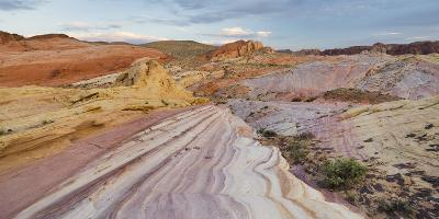 Sandstone, Valley of Fire State Park, Nevada, Usa