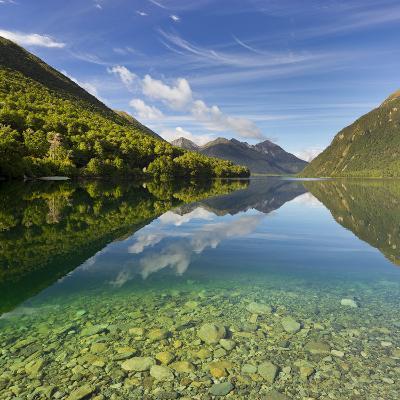 Lake Gunn, Fiordland National Park, Southland, South Island, New Zealand