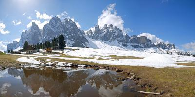 Italy, South Tyrol, the Dolomites, Geislergruppe (Gruppo Delle Odle) Mountains, Gschnagenhardt Alps
