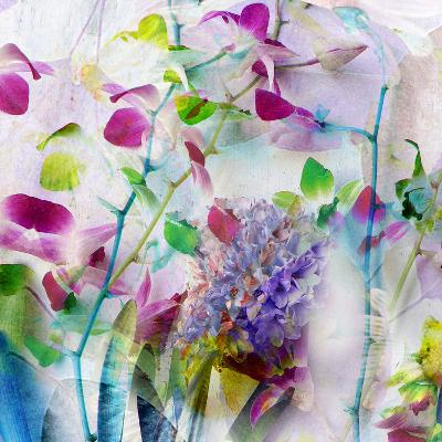 A Floral Montage Photographic Layer Work