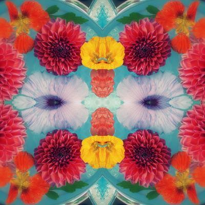Blossoms in Blue Water Symmetric Layer Work