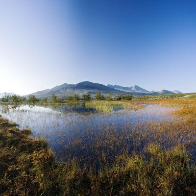 Scandinavia, Norway, Rondane, National-Park, Mountain Scenery, Mountain Lake