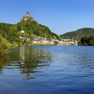 Germany, Rhineland-Palatinate, Cochem, the Moselle, Imperial Castle