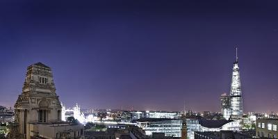 London, Panorama, Trinity House, Jewel House at the Tower of London, Roof Terrace Mint Hotel