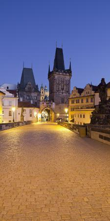 Czechia, Prague, Charles Bridge, City Gate