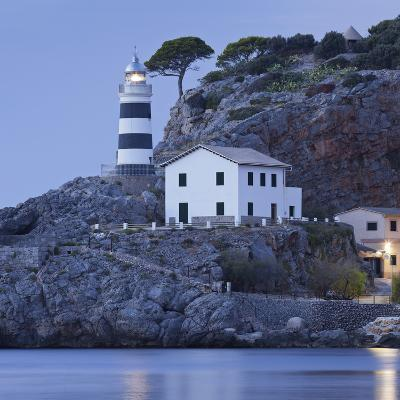 Lighthouse of Port De S—ller, Majorca, Spain