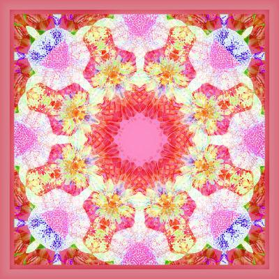 Ornament from Flowers, Photographic Layer Work