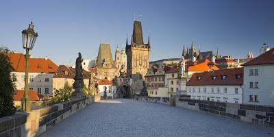 Czechia, Prague, Charles Bridge, Town Gate