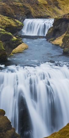 Waterfall Flow Skoga, South Iceland, Iceland