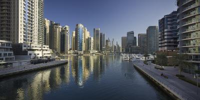 Skyscrapers, Dubai Marina, Dubai, United Arab Emirates