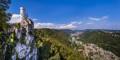 Germany, Baden-Wurttemberg, Swabian Alp, Reutlinger Alp, Echaztal