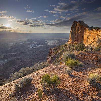 Near Mesa Arch, Canyonlands National Park, Moab, Utah, Usa