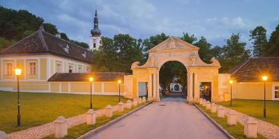 Cistercian Monastery Heiligenkreuz Abbey in the Vienna Woods, Lower Austria, Austria
