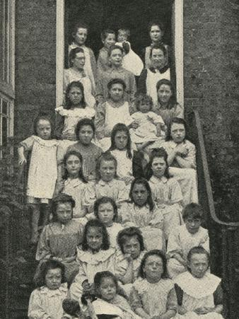 The Nest, Salvation Army Children's Home, London
