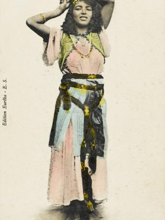 'Arabian' Belly Dancer - Algeria