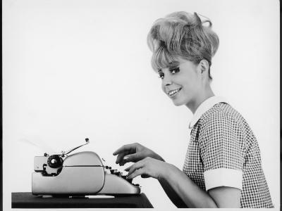 Blonde Typist 1960s