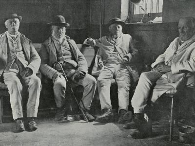 Inmates of Union Workhouse, Shipston on Stour, Worcs