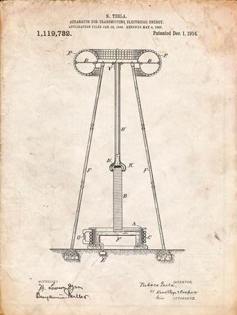 Tesla Energy Transmitter Patent