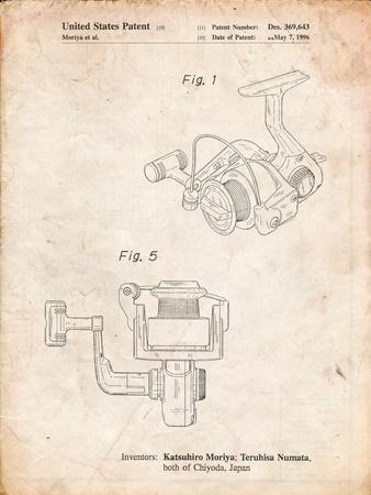 Open Face Spinning Fishing Reel Patent