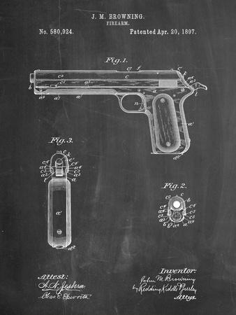 Colt Automatic Pistol of 1900 Patent