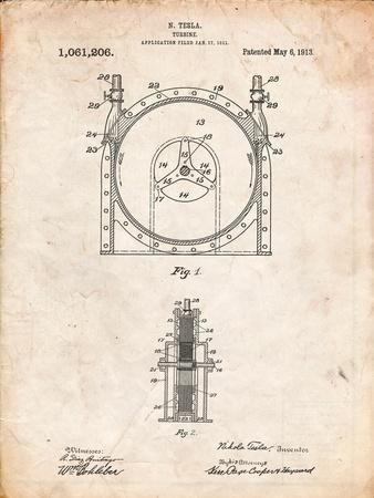 Tesla Turbine Patent