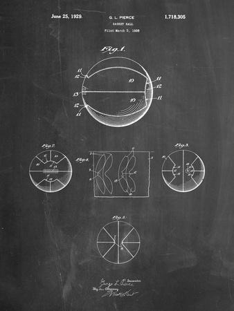 Basketball 1929 Game Ball Patent