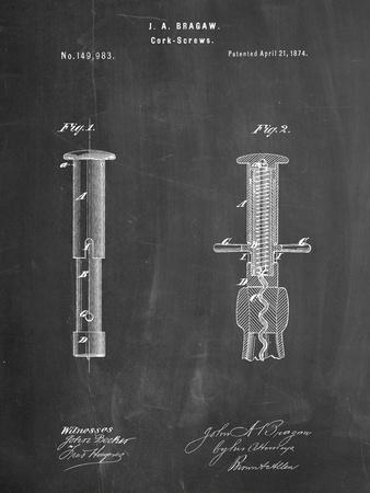 Corkscrew 1874 Patent