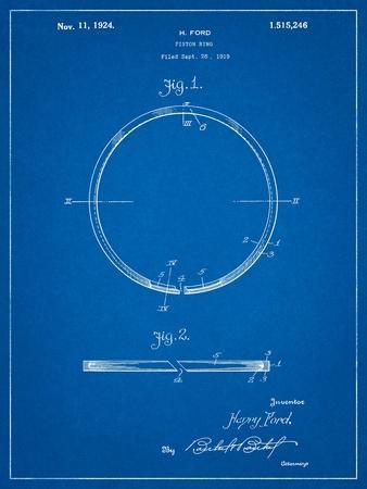 Ford Piston Ring Patent