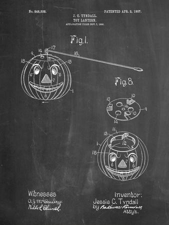 Toy Lantern Poste Patent