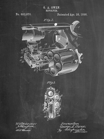Owen Revolver Patent Art