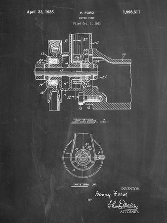 Ford Water Pump Patent
