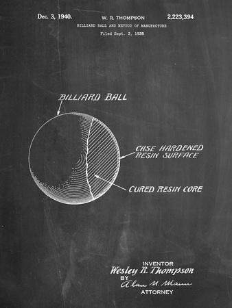 Billiard Ball Patent