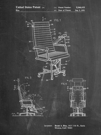 Exercising Office Chair Patent