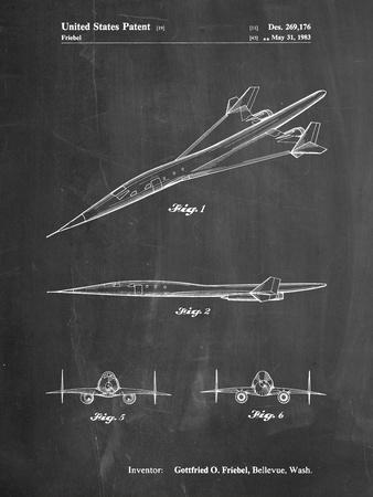 Boeing Supersonic Transport Concept Patent