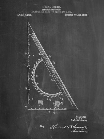 Drafting Triangle 1922 Patent
