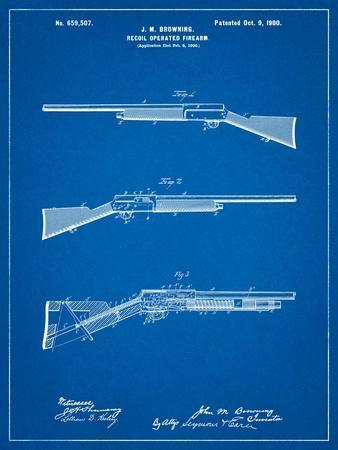Browning Auto 5 Shotgun 1900 Patent