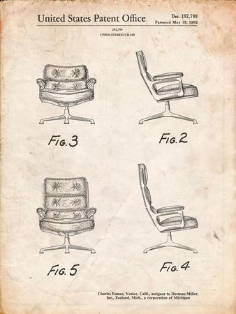 Eames Upholstered Chair Patent