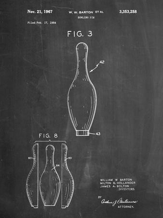 Bowling Pin 1967 Patent