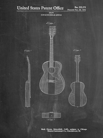Buck Owens American Guitar Patent